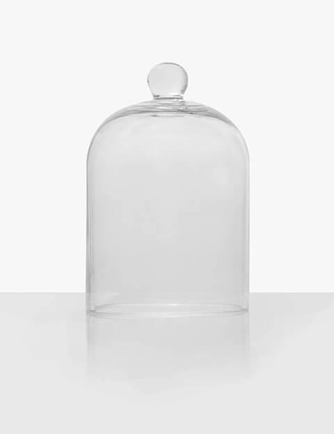 Glass Borosilicate Candle Cloche Image 1