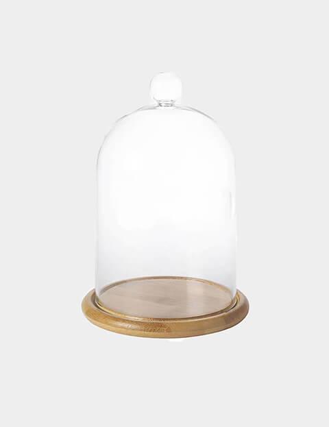 Glass Borosilicate Candle Cloche Image 3