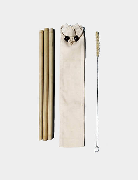Bamboo Eco Straws Image 3