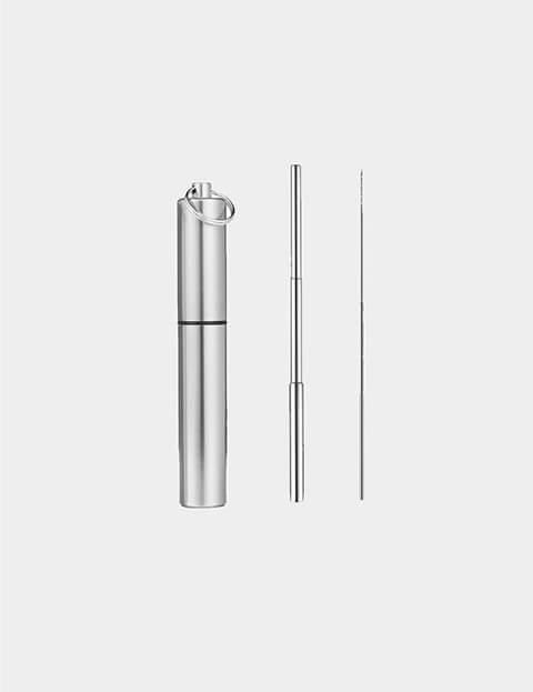 Reusable Stainless Steel Straw Image 1